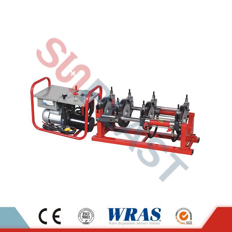 63-160мм гідравлічний зварювальний апарат злиття для HDPE труби
