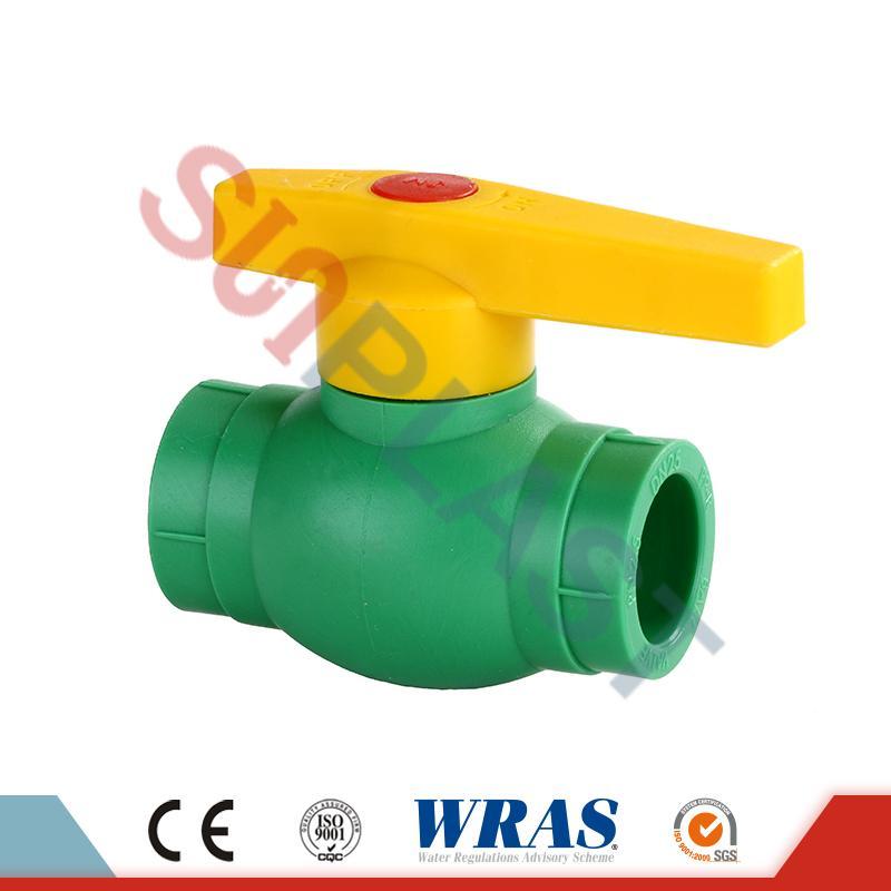 Шаровий клапан DIN8077 PPR